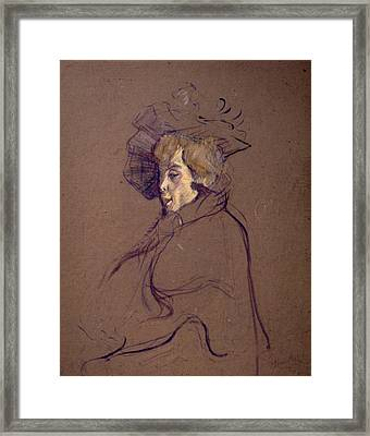Toulouse-lautrec J Framed Print by Granger