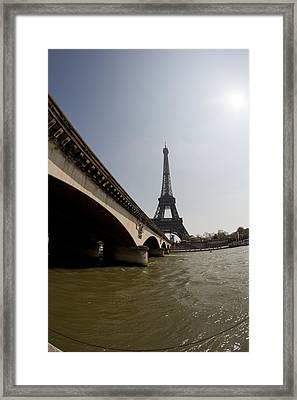 Tour Eiffel 1 Framed Print by Art Ferrier