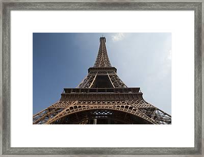 Tour Eiffel 2 Framed Print by Art Ferrier