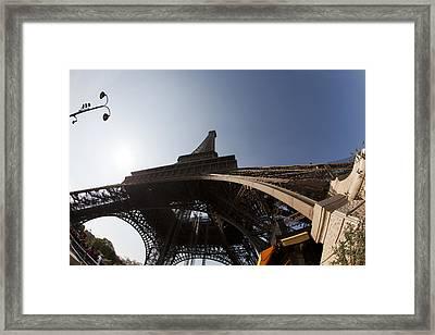 Tour Eiffel 5 Framed Print by Art Ferrier