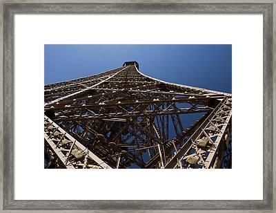 Tour Eiffel 7 Framed Print by Art Ferrier