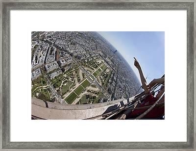 Tour Eiffel 8 Framed Print by Art Ferrier
