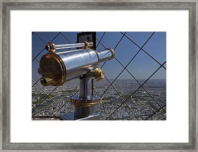 Tour Eiffel 9 Framed Print by Art Ferrier