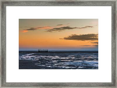 Framed Print featuring the photograph Tout Est Silence by Thierry Bouriat