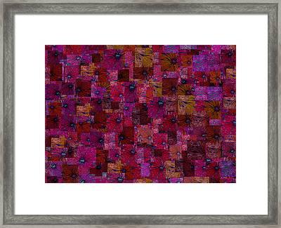 Toward Square Framed Print by Jack Zulli
