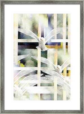 Towards Freedom Framed Print by Gun Legler