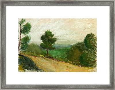 Towards Nice Framed Print by Daniel Clarke