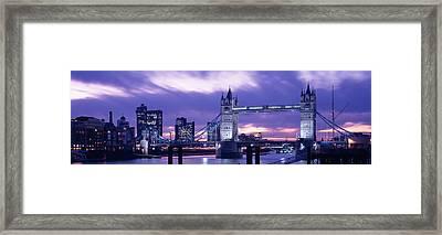 Tower Bridge, Landmark, London Framed Print by Panoramic Images