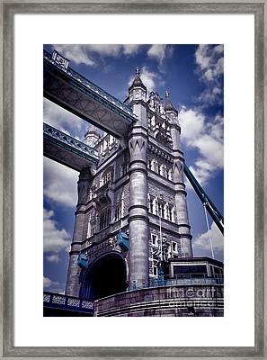 Tower Bridge London Framed Print by Mariola Bitner