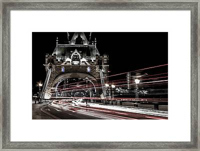 Tower Bridge London Framed Print by Martin Newman