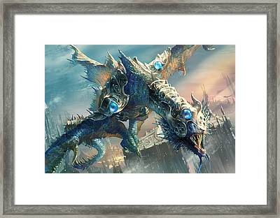 Tower Drake Framed Print by Ryan Barger