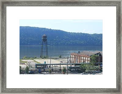 Tower In The Sand Framed Print by Lotus