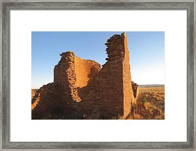 Tower Kiva At Kin Klizhin Framed Print by Feva  Fotos
