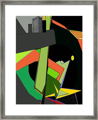 Tower Of Babel Framed Print by Anne Hamilton