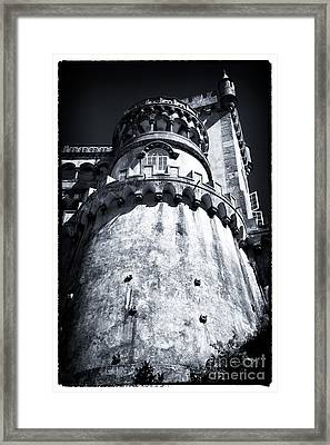 Tower Of Pena Palace Framed Print by John Rizzuto