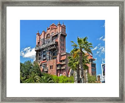 Tower Of Terror Framed Print by Thomas Woolworth