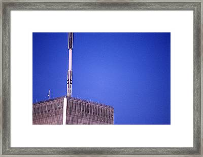 Tower One Framed Print by Jon Neidert