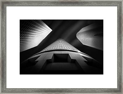 Tower Wars 2 Framed Print by Az Jackson