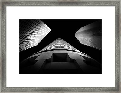 Tower Wars 3 Framed Print by Az Jackson