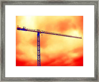Towering 1 Framed Print by Wendy J St Christopher