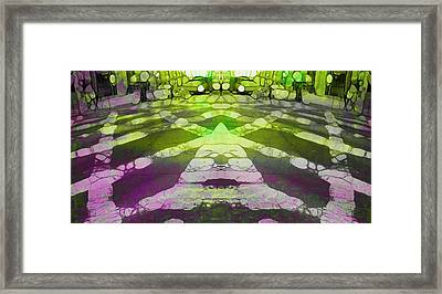 Toxic City Framed Print by Dan Sproul