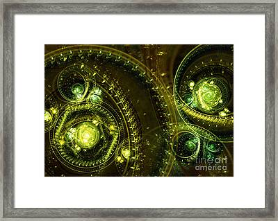 Toxic Dream Framed Print by Martin Capek