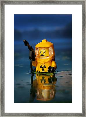 Toxic Framed Print by Samuel Whitton