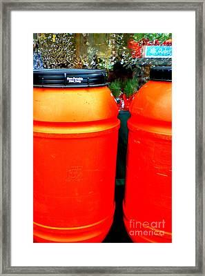 Toxic Waste Framed Print by Renee Trenholm
