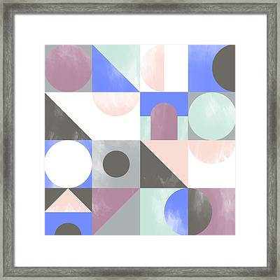 Toy Blocks Framed Print by Laurence Lavallee