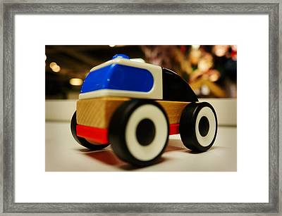 Toy Car Framed Print by Celestial Images