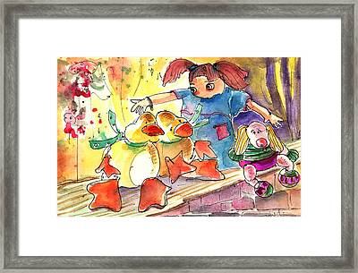Toy Story In Lanzarote 02 Framed Print by Miki De Goodaboom