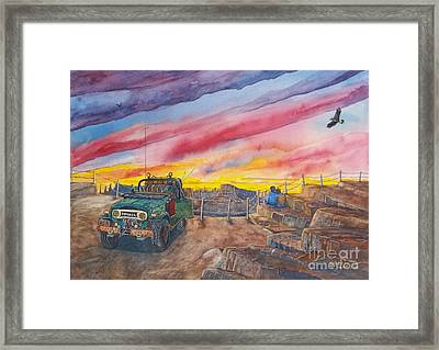 Cruiser Camping Framed Print by Don Hand