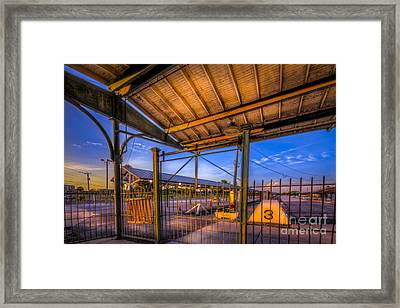 Track 3 Framed Print by Marvin Spates