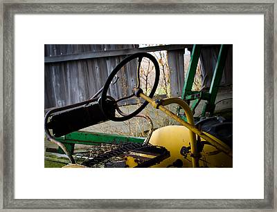Tractor Framed Print by Off The Beaten Path Photography - Andrew Alexander