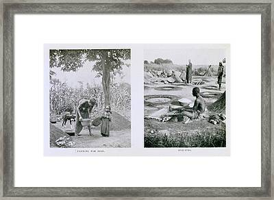 Traditional Nigerian Industry Framed Print by Schomburg Center For Research In Black Culture/new York Public Library