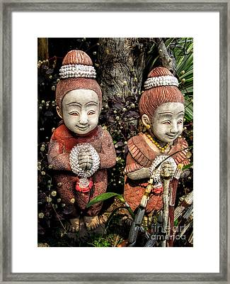 Traditional Thai Welcome Framed Print by Adrian Evans