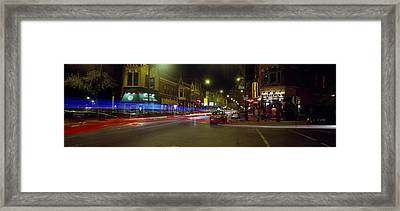 Traffic On The Road, Lincoln Park Framed Print by Panoramic Images