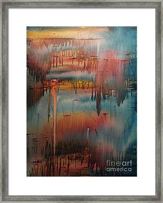 Trail Of Tears Framed Print by Wayne Cantrell
