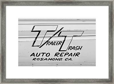 Trailer Trash Framed Print by Phil 'motography' Clark