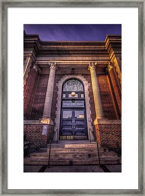 Train Gateway Framed Print by Marvin Spates