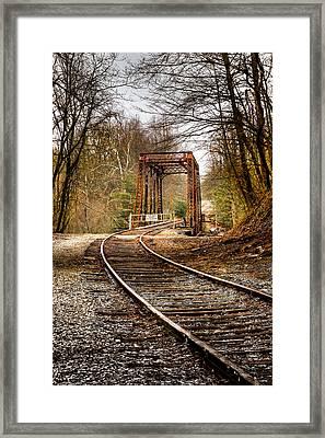 Train Memories Framed Print by Debra and Dave Vanderlaan
