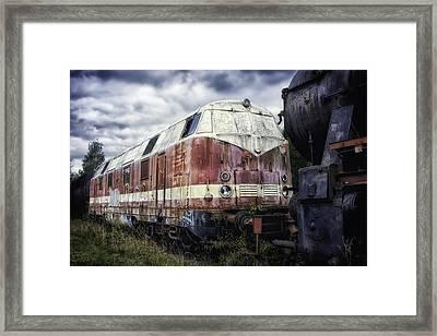 Train Memories Framed Print by Mountain Dreams