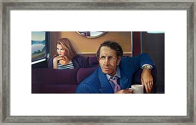 Train Of Thought Framed Print by Patrick Anthony Pierson