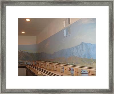 Train Room Before   Framed Print by Maria Hunt