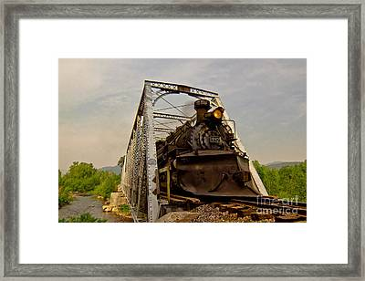 Train To Chama Framed Print by Robert Frederick