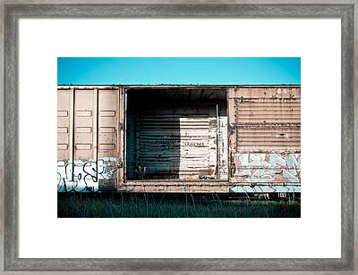 Trains 15 Framed Print by Niels Nielsen