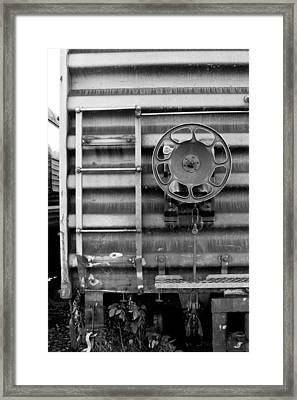 Trains 16 Framed Print by Niels Nielsen