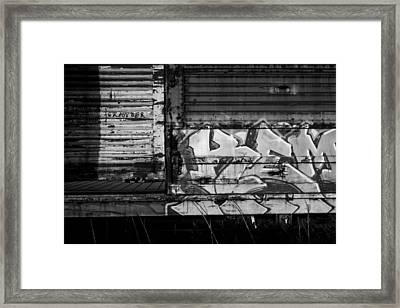 Trains 17 Framed Print by Niels Nielsen