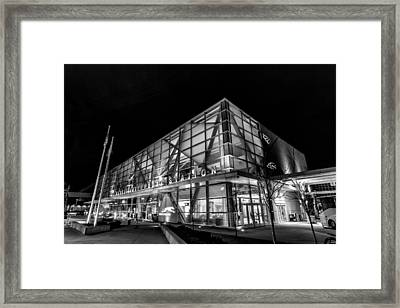 Trains And Buses Framed Print by CJ Schmit