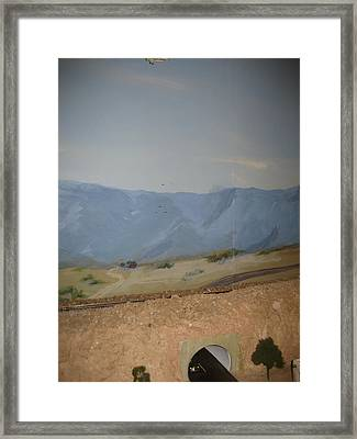 Trains  Planes And Automobiles Framed Print by Maria Hunt